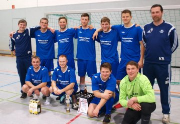 Die Rüdersdorfer Mannschaft wiederholte seinen Turniersieg von 2017 und gewann auch 2018 das eigene Turnier (Foto: Manfred Malinka)