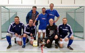 Die Alten Herren (Ü35) des TSV 1880 Rüdersdorf holen sich überraschend den Titel beim eigenem Turnier